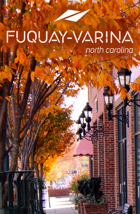 Fuquay-Varina Mobile App Graphic