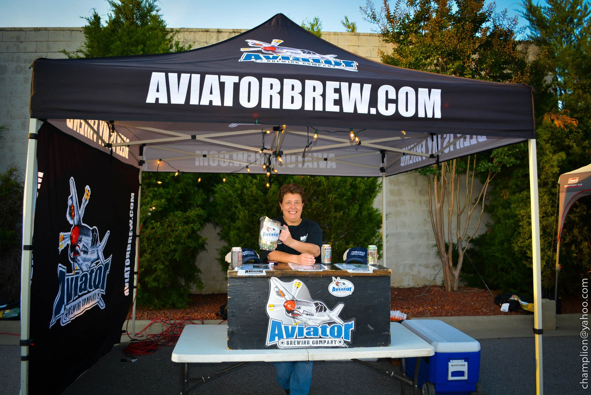 Aviator Brewery and other local breweries will be on site.