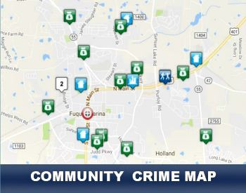 Community Crime Map | Fuquay-Varina, NC