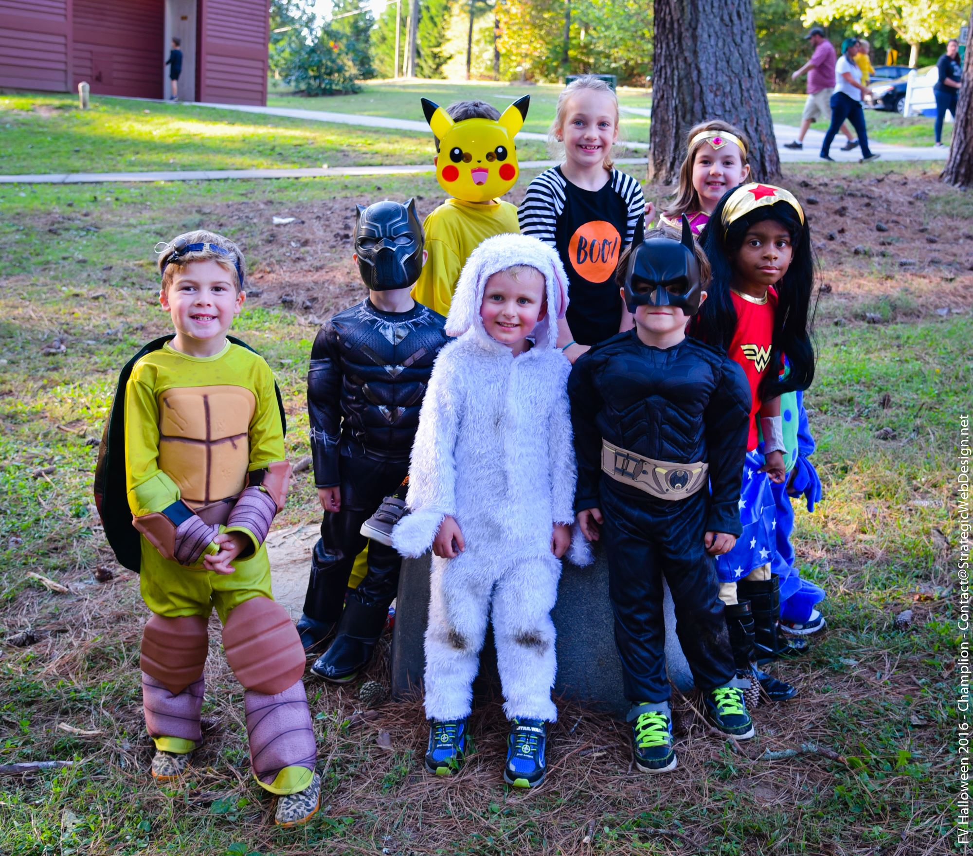 Haunted Trail Family Fright