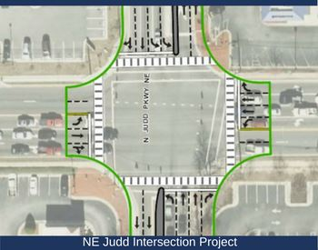 NE Judd Intersection Project