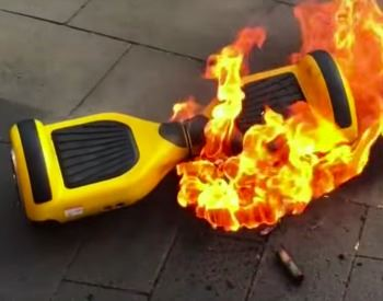 Hoverboard Fire Safety