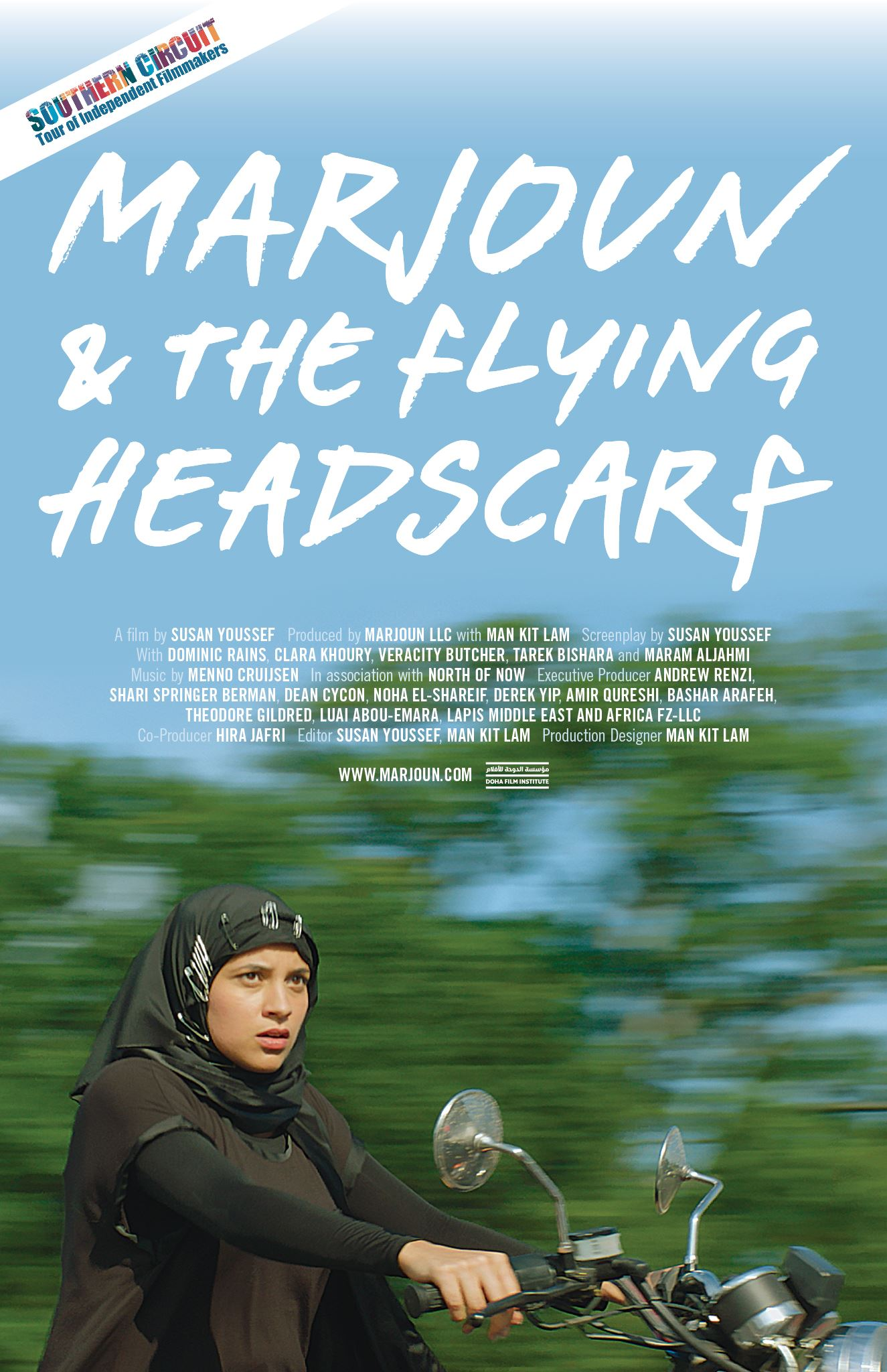 Poster web - Marjoun and the Flying Headscarf