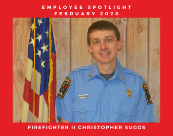 Firefighter II Christopher Suggs