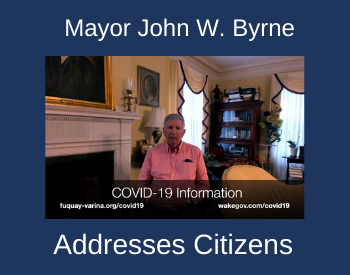 Mayor John W. Byrne Addresses Citizens