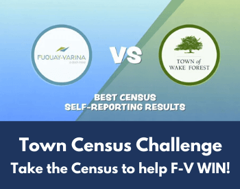 Town Census Challenge Take the Census to help F-V WIN!