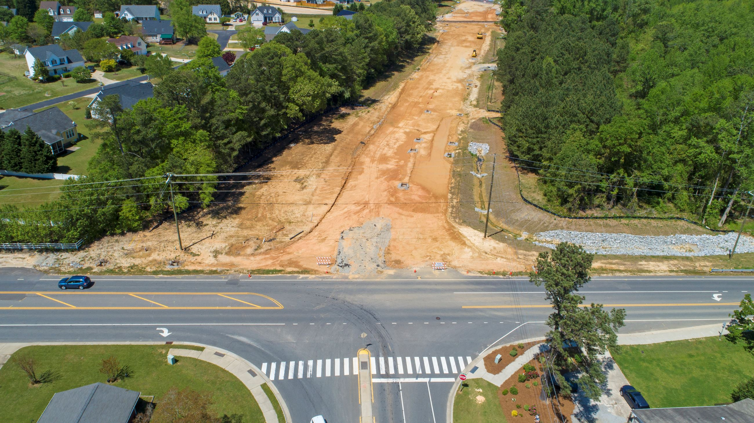 Judd Parkway Construction-April 2020