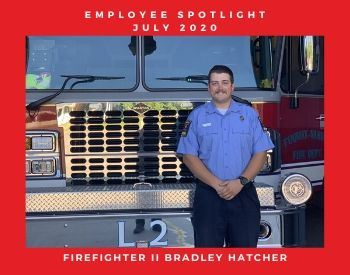 Firefighter II Bradley Hatcher