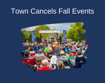 Town Cancels Fall Events