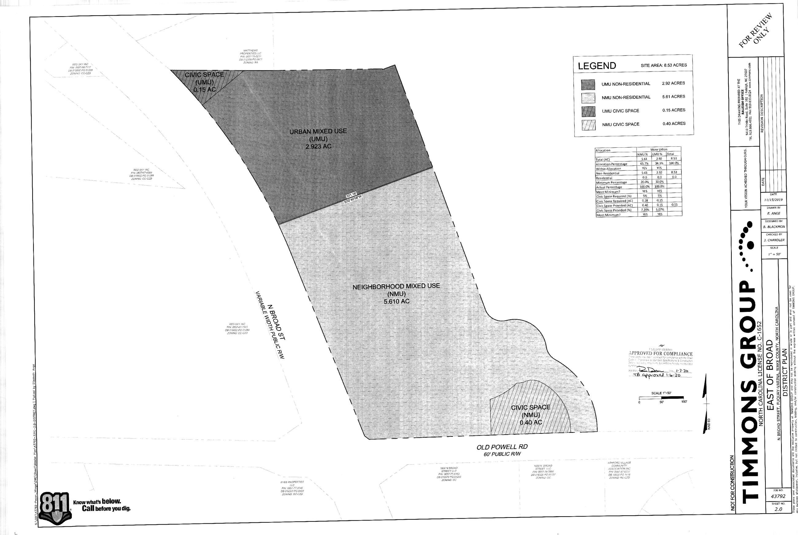 East of Broad- Master Plan
