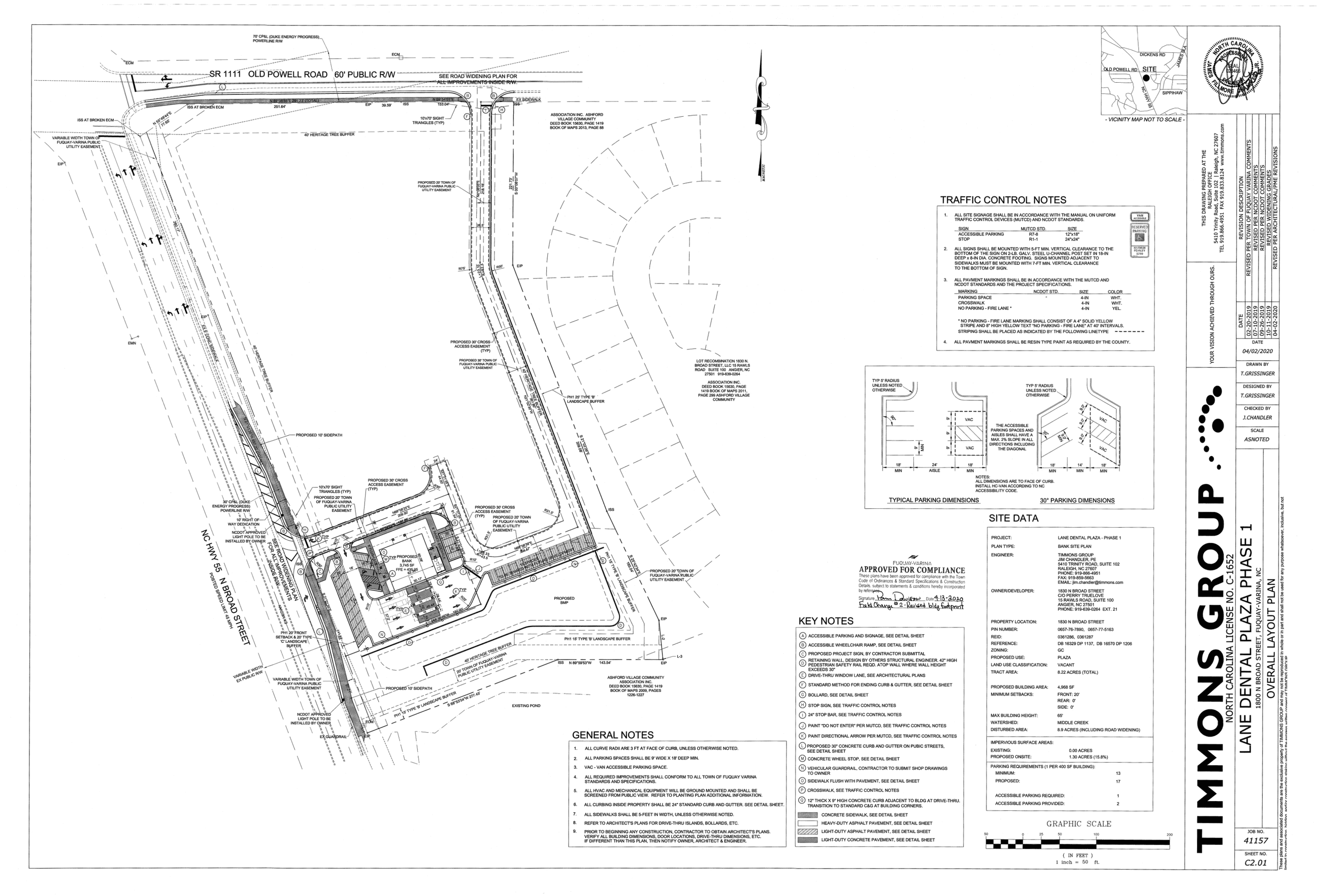 First Bank- Site Plan