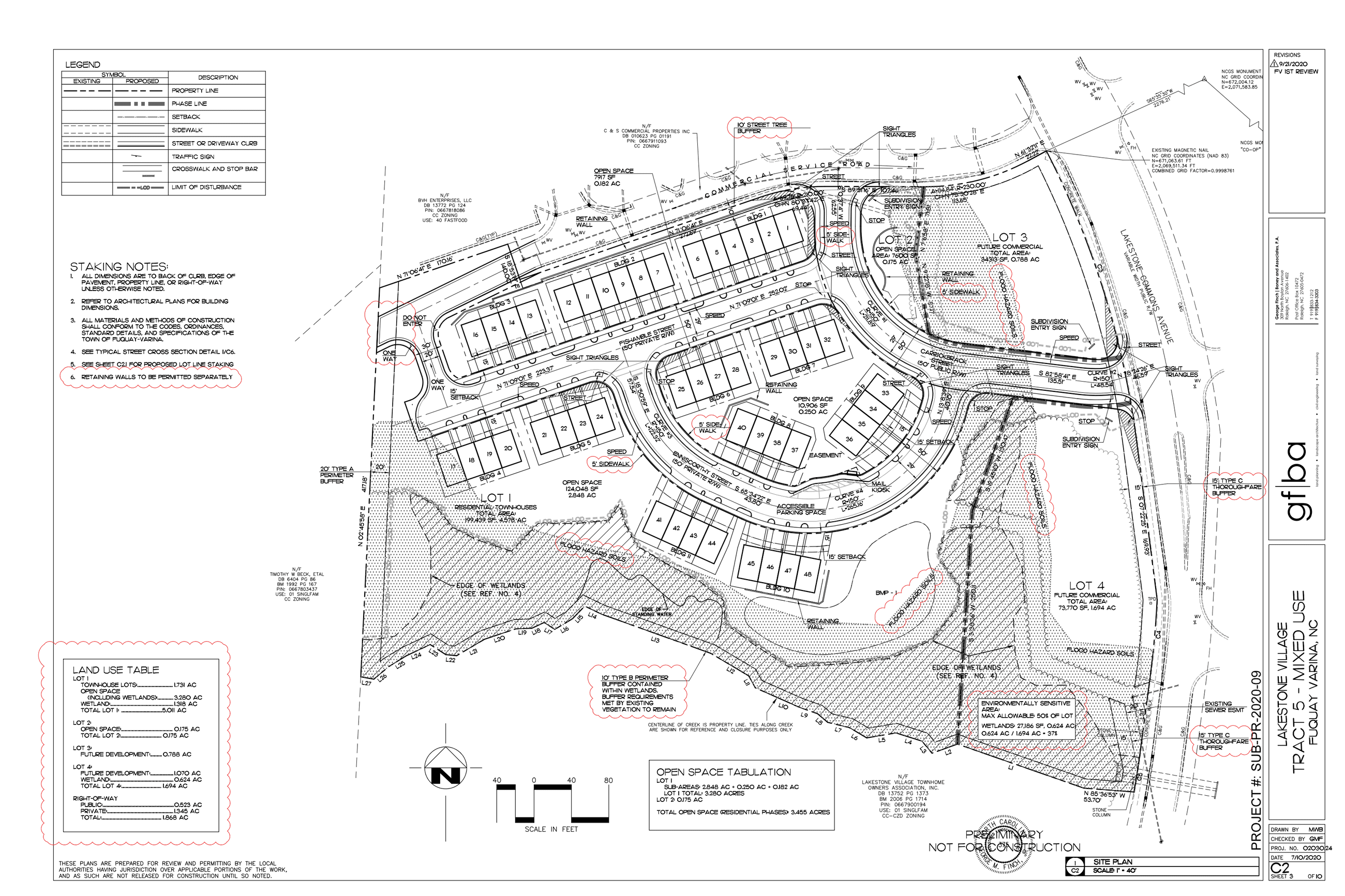 Lakestone- Site Plan