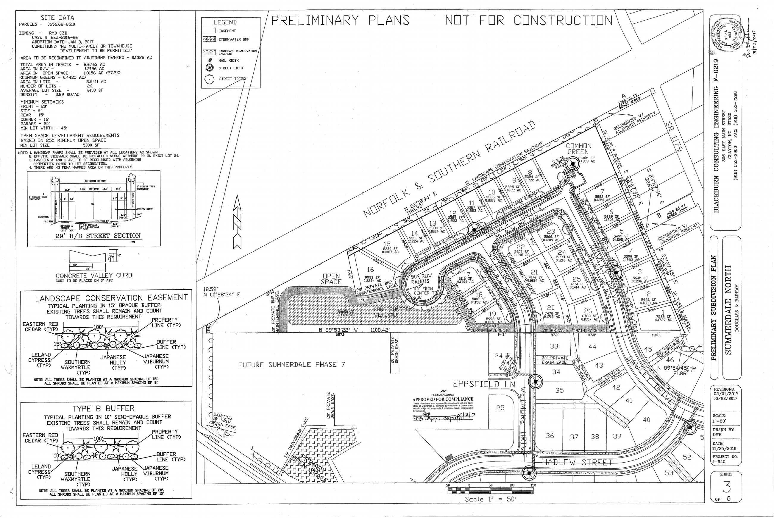 Summerdale North- Sub Plan