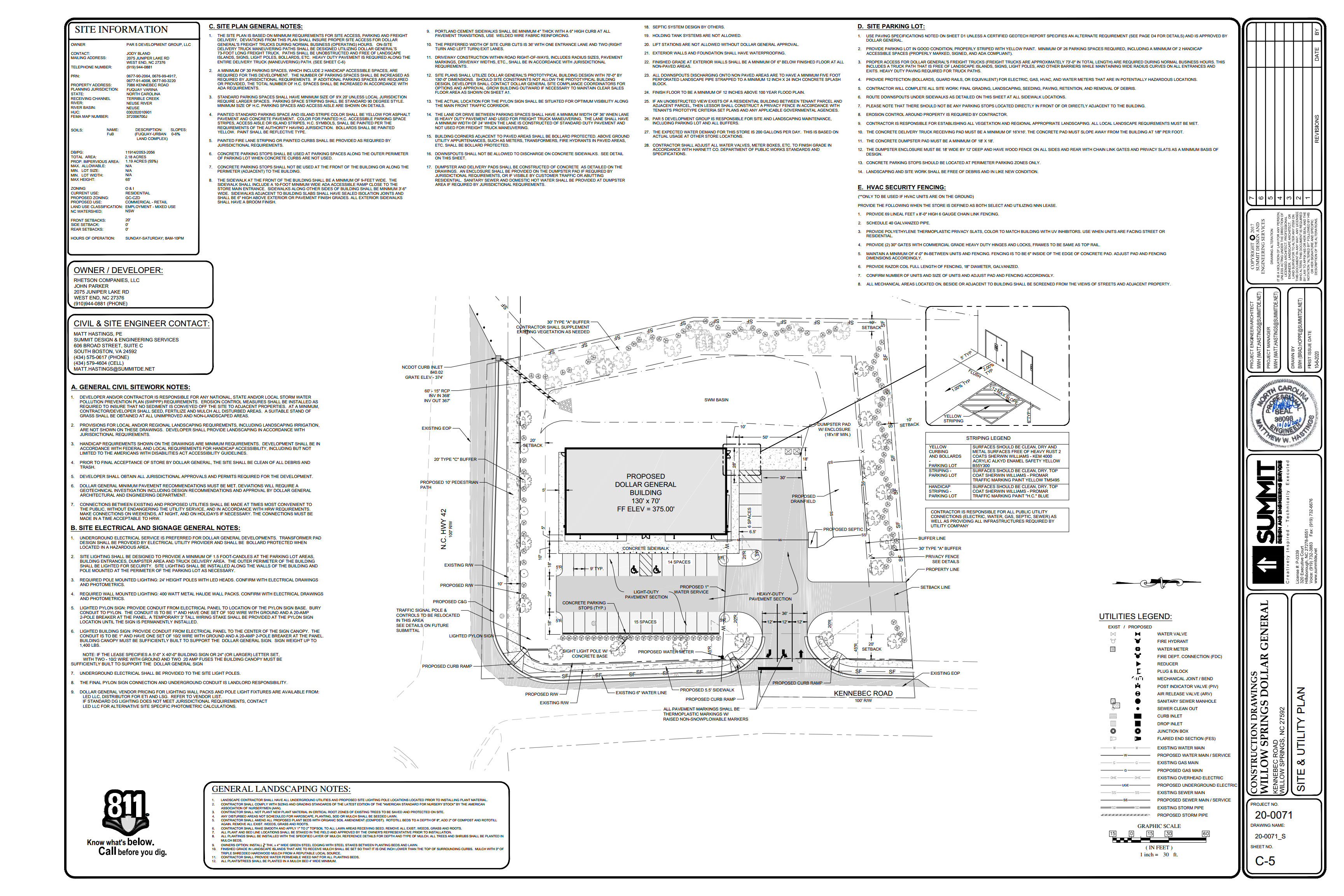 Willow Spring Dollar General Site Planpng_Page1