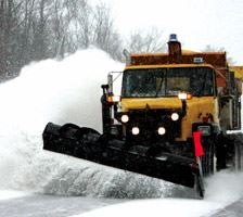 Public Utilities Snow Plow