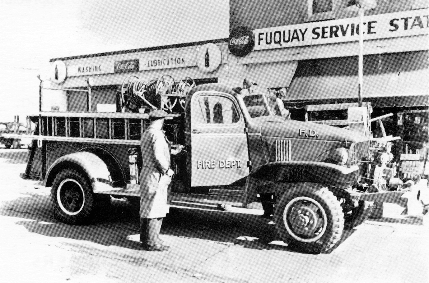 Old Fire Truck Picture