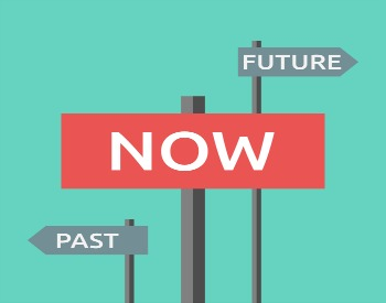Past, now, future graphic